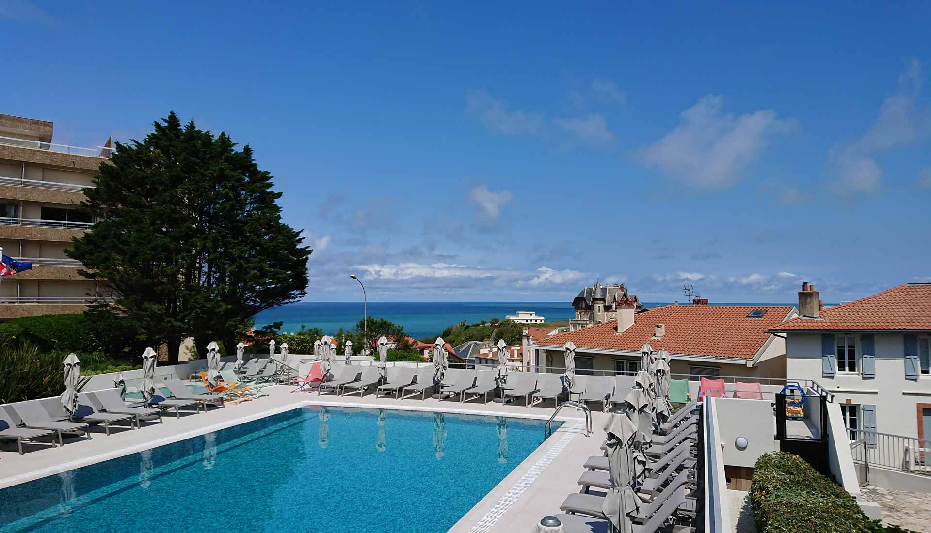 sh piscine grand large biarritz